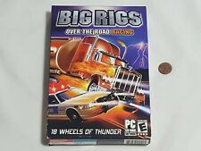 NEW Big Rigs Over the Road Racing PC Game SEALED 2003 Computer bigrigs rig