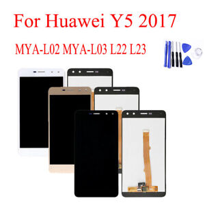 LCD Display Touch Screen Digitizer Assembly For Huawei Y5 2017 MYA-L23 L03 L02