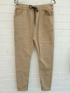 Sampson & Taylor Cuffed Jogger Denim Jeans Pants Size L Mens W32.5 JE338