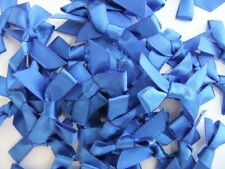 100 7mm Satin Ribbon Bows For Wedding Invitation Card Making Choice 25 Colours