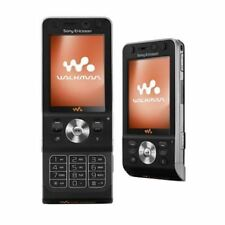 Sony Ericsson Walkman W910i Black (Virgin) Locked Mobile Phone - Warranty