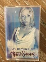 MARTA SANCHEZ -LOS REMIXES DE MARTA SANCHEZ- MEXICAN EP CASSETTE LATIN POP