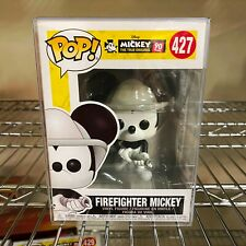 Funko Pop Firefighter MICKEY Disney #427 New Mint 90 Year Anniversary Rare
