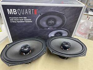 "MB Quart PK1-169 Premium 6x9"" Coaxial Car Speakers - New Pair - TOP QUALITY!"