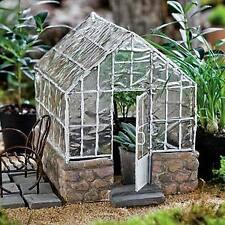 Miniature Dollhouse FAIRY GARDEN ~ Greenhouse ~ NEW