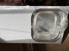 Cooke & Lewis Nakaya, polished Inox stainless steel single drainer sink