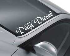 Dirty Diesel Windscreen Sticker Rear Window Bumper Windscreen Car Decal as28
