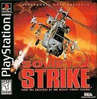 Soviet Strike Playstation Game PS1 Used Complete