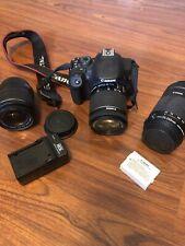 Canon Rebel T5i 18.0MP Digital SLR Camera w/ 18-55mm Lens *Pre-owned* & 55-250mm