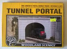 Preformed Layout HO Scale Model Train Scenery & Trees