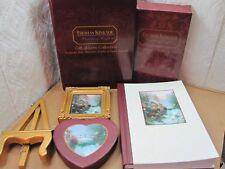 Thomas Kinkade Gift Of Love Collection Keepsake Box, Frame & Easel, Journal