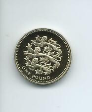 1997  Royal Mint Proof £1 (One Pound)  coin taken from a Royal Mint Proof Set.
