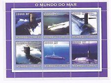 Stamps Mosambik Block97 Postfrisch 2001 Kunstwerke Art
