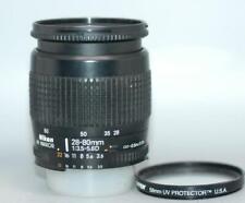 Nikon 35-80mm f4-5.6 Nikkor AF-D Zoom lens for film or DSLR camera - Nice Ex++!