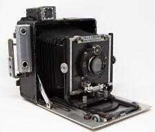 Burke & James 4x5 Watsom Press Camera & Compur 15cm F4.5 lens/ Kalart Synchroniz