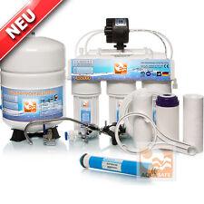AQUASAFE AS5000 5-Stufige Umkehr-Osmose + Permeat Wasserfilter-Anlage OSMOSIS