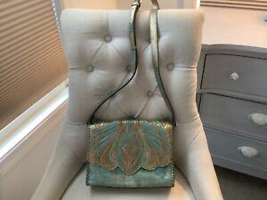 Patricia Nash leather crossbody purse