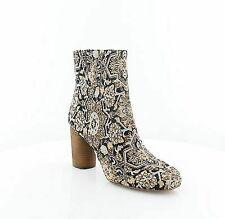 Sam Edelman Womens Corra Black Pattern BOOTIES Shoes 9.5 Medium (b M) BHFO 1380