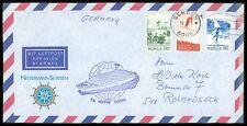 NORWEGEN SCHIFFSPOST 1979 BERGEN NECKERMANNREISEN NORDKAP MAXIM GORKI z2302