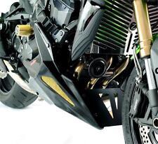 Kawasaki Z750 Z1000 NEW Bellypan Chin Spoiler Glossy Black - Powerbronze(PB)