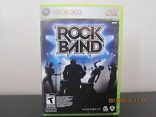 Rock Band  (Xbox 360, 2007) *Tested/Complete/Mint