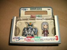 Gundam Seed Gundam&Pilot Sd Figure Set 3 Gat-X102 Duel Gundam & Yzak Juke