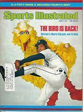1977 (6/6) Sports Illustrated magazine baseball, Mark Fidrych Detroit Tigers  VG