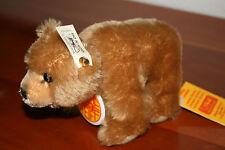 Steiff arche ORSO BRUNO * KFS 038327 * 12 cm * ARK Brown Bear * ours Brun
