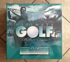 NEW-ULTIMATE GOLF TRIVIA GAME. 1997. 14+. FUN -2400 QUESTIONS