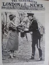 Photo article Captain Templer RA wins Badminston horse trials Queen Mother 1964