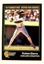 1994 SCORE TOMBSTONE PIZZA SUPER PRO SERIES RUBEN SIERRA A'S