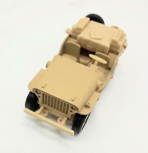 Solido Willys Jeep 11 Desert Rats 07-82 1:43 scale made in France