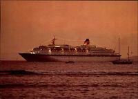 Schiffsfoto-AK Schiff MS EUROPA Paquebot Bordpoststempel Jubiläums-Kreuzfahrt 92