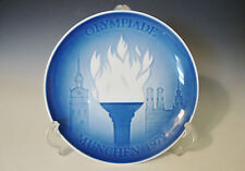 Royal Copenhagen Collector Plate Olympiade Munchen 1972 - First Issue - Denmark
