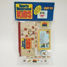 1991 Sports Illustrated For Kids Buzz Beamer Study Kit Retro 90's Back To School
