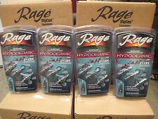 """12 NEW Rage Hypodermic 2 Blade 100 Gr 2"""" Cut 1/2 Broadheads R39100 BROADHEAD"""