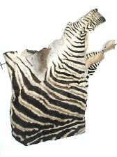 Authentic African Zebra Skin Hide Bag