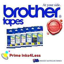 Brother Genuine TZ631 TZe-631 12mm Black on Yellow Laminated Tape - 8 Meters
