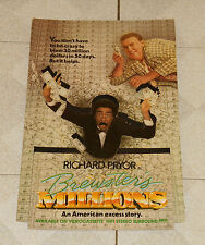 vintage BREWSTER'S MILLIONS counter display standee Richard Pryor John Candy