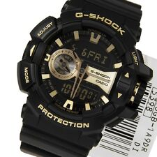 Casio G-Shock Mens Wrist Watch GA400GB-1A9  GA400GB-1A9 Rotary Switch Black Gold