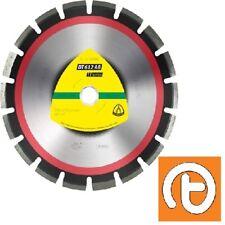 Klingspor DT612AB 400mm x 25.4mm Supra Diamond Blade for Asphalt/Concrete