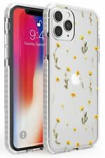 Mixed Yellow Flowers - Dried Flower-Inspired Impact Case for iPhone Pressed