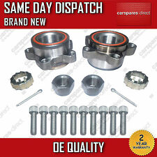 2x FORD TRANSIT MK6 2000-2006 FRONT HUB WHEEL BEARING KIT PAIR *ALL MODELS*