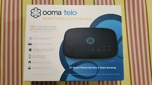 NEW Ooma Telo Internet Smart Home Phone Service - Free USA nationwide calling