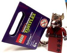 LEGO Exclusive Teenage Mutant Ninja Turtles - Splinter Key Chain {850838}
