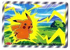 POKEMON TV TOKYO JR KIKAKU 1997 RV 3D N° 025 PIKACHU