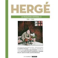 Tintin Le Feuilleton intégral Hergé Volume 8 (1939-1940)