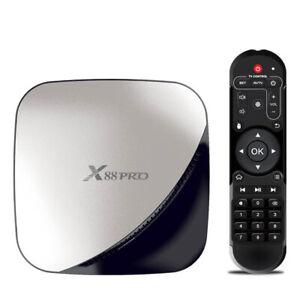 X88 PRO Smart Android 9.0 TV Box Rockchip RK3318 Quad Core 64 Bit 2+16 GB M1R5