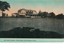 DES MOINES IA - Golf and Country Club House