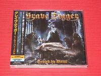 2017 GRAVE DIGGER Healed By Metal with Bonus Track (TOTAL 13 TRACKS)  JAPAN CD